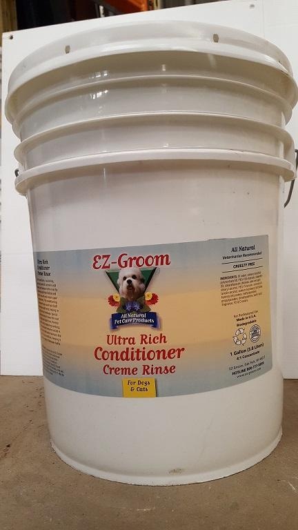 E-Z Groom Ultra Rich Conditioner Creme Rinse 20L