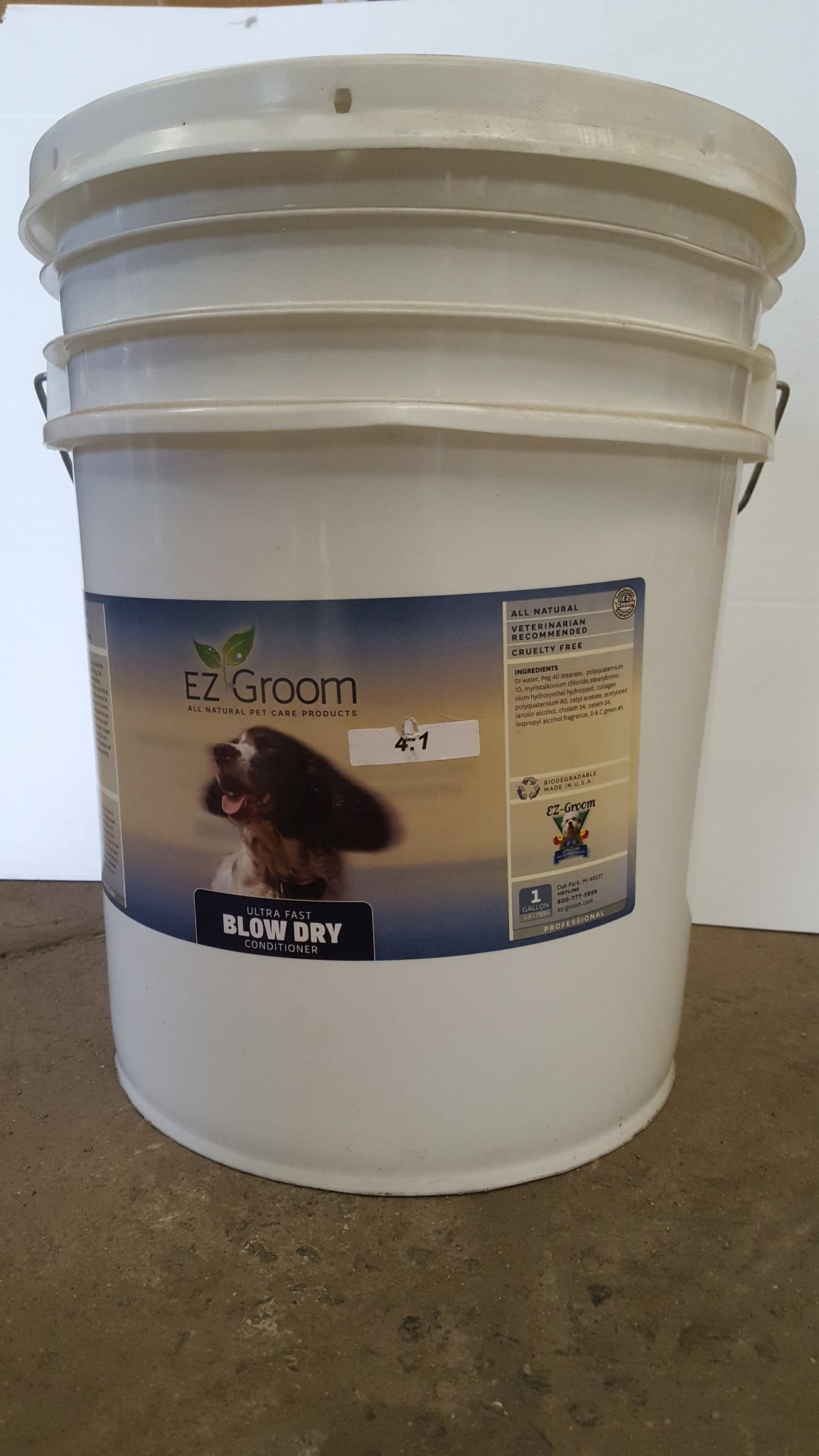 E-Z Groom Ultra Fast Blow Dry Conditioner 20L