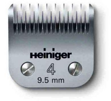 Clipper Blade #4 / 9.5 mm Dog/Horse Blade Set
