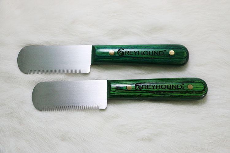 Ashley Craig GREYHOUND Easy Grip Fine Right (Bread and Butter Knife)