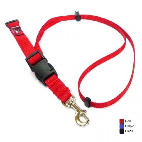 Black Dog Grooming Adjustable Loop - Red