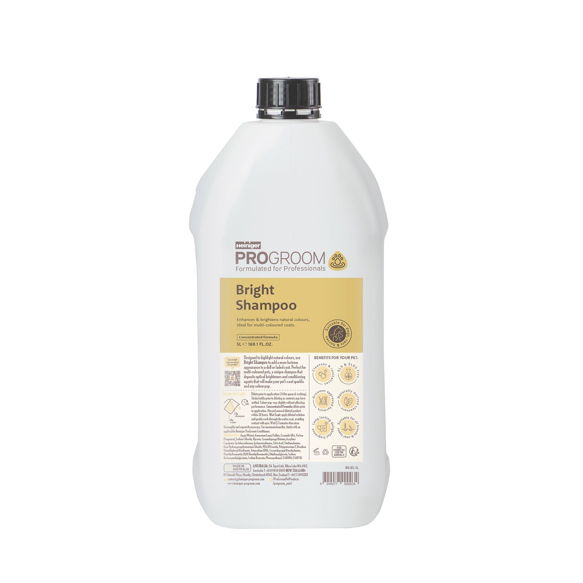 ProGroom Brightening Shampoo  5 Litre
