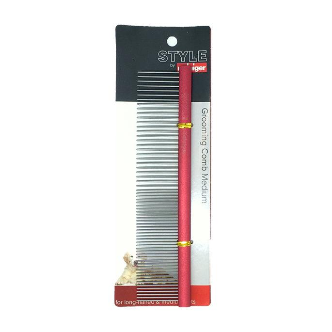 Grooming Comb ProGroom - Medium - Size 192 X 45mm