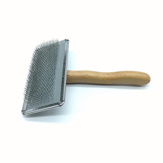 Pet Slicker Brush ProGroom Steel Back - Size Large