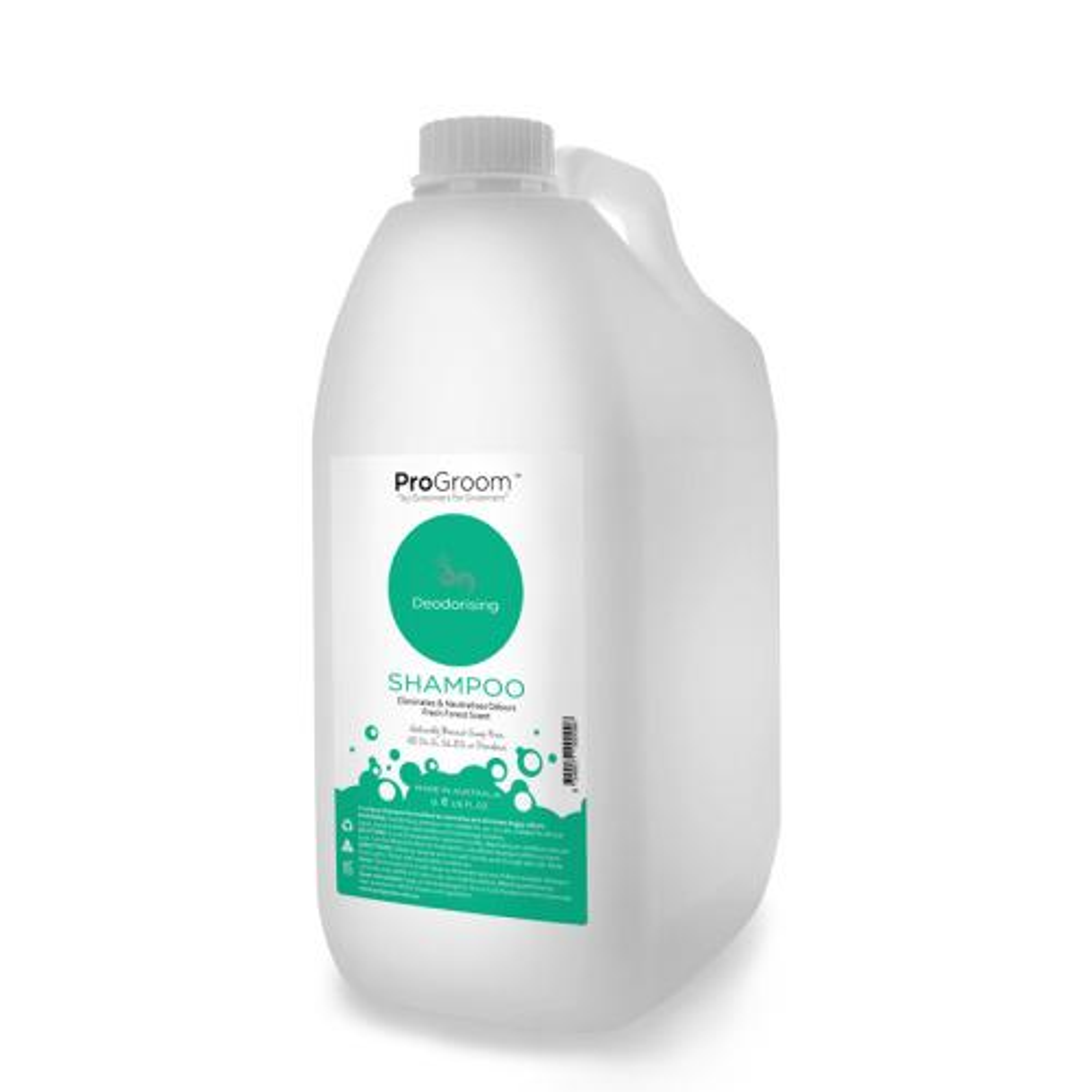 ProGroom Deodorising Shampoo - Jade 5 Litre