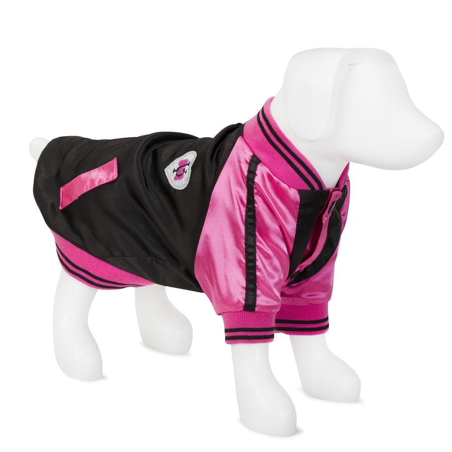 F&R FOR VP PETS BEVERLY HILLS - BLACK/PALE PINK - XTRA SMALL