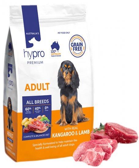Hypro Premium Kangaroo & Lamb 20kg