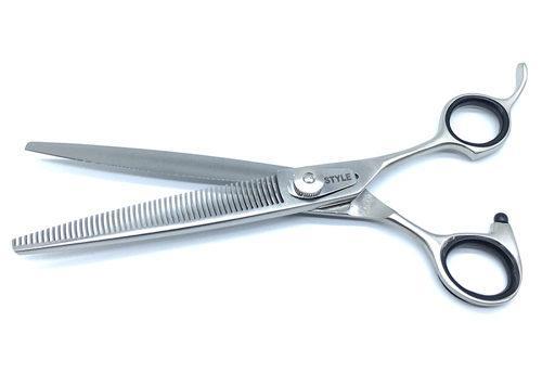 "7"" ProGroom  Grooming Scissors - V Teeth"