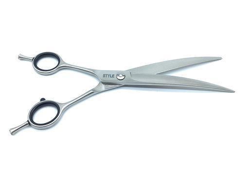 "7.5"" ProGroom Left Handed Grooming Scissors - Curved"