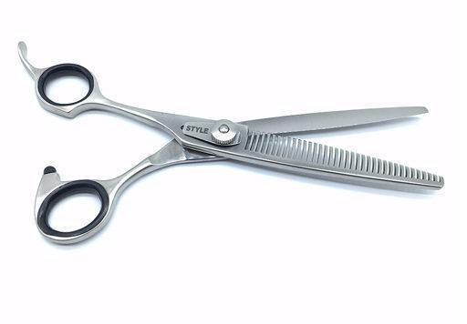 "6.5""  ProGroom Left Handed Grooming Scissors - - W Teeth"