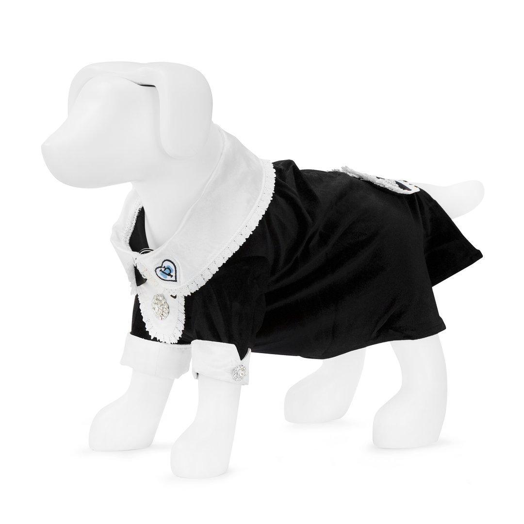 F&R for VP Pets Fleece Hoodie - Blue/Black - MEDIU