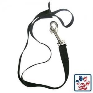 "Resco Grooming Loop, Black With Plastic Cam Clip - 1/2""  x 22"" - PF0888"