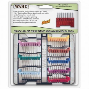 Wahl Attachment Comb Set of 8 (Suits 5 in 1 Blade - Arco, Super Cordless etc...)