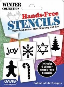 Hands Free Stencils - Winter Pack 6pk