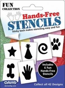 Hands Free Stencils - Fun Pack 6pk
