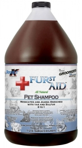 Groomers Edge Furst Aid Tar and Sulphur Shampoo 3.8L