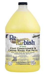 Groomers Edge Re-Fur-Bish Conditioner and Creme Rinse 3.8l