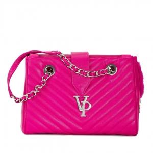 Vanderpump Monogramme Chain Pet Carrier - Pink