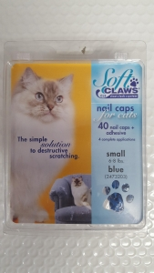 Soft Claws Feline Small - Blue