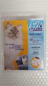 Soft Claws Feline Medium - Clear