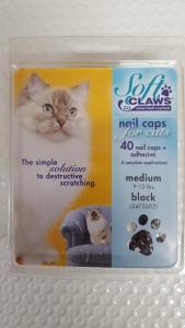 Soft Claws Feline Medium - Black