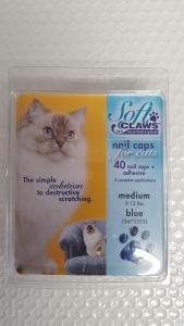 Soft Claws Feline Medium - Blue