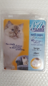 Soft Claws Feline Large - Clear