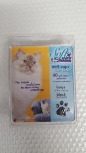 Soft Claws Feline Large - Black