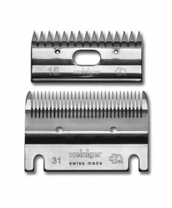 Heiniger 31-15 Standard Combination Blade Set