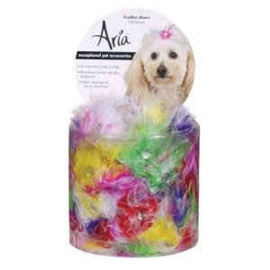 Aria Feather Bow Canister 100Pc