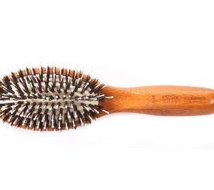 Bass 848 Cushion Wild Boar/Nylon Bristle Brush
