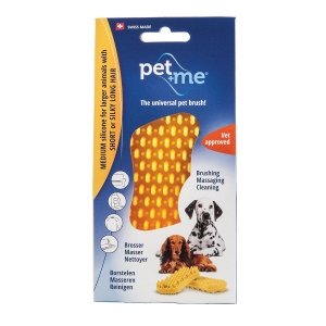 Pet+Me Medium Silicone For Larger Animals With Short or Silky Long Hair