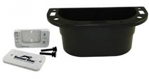 Kennel Gear Supply Caddy W/Metal Bar MNT - Black