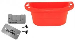 Kennel Gear Supply Caddy W/ SM Table - Red