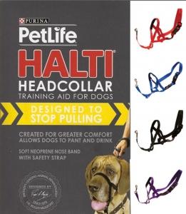 PL Halti Head Collar Blue Med