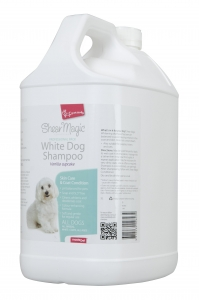 Shear Magic Professional White Dog Shampoo  5 Litre