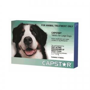 Capstar For Dogs 11.1-57Kg Green 6 Pack