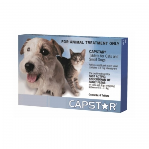 Capstar For Dogs & Cats 0-11Kg Blue 6 Pack