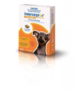 Interceptor Spectrum Chews Very Small Dog 6s
