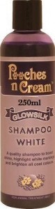 Pooches n Cream Glowsilk Shampoo - White 250ml