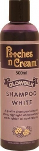 Pooches n Cream Glowsilk Shampoo - White 500ml