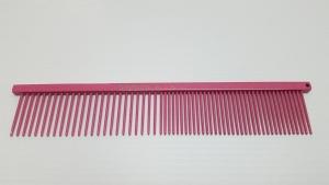 "Ashley Craig GREYHOUND Combs 7.5"" Beauty Medium Coarse/Fine Lipstick Sparkle"