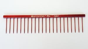 "Ashley Craig Bitch 7.5""  x 1.75"" Comb - Candy Red"