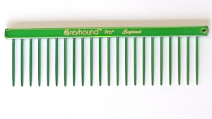 "AC Brat 4.5"" Fat Comb - Candy Green"