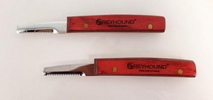 Ashley Craig Greyhound Retro Knife - Medium