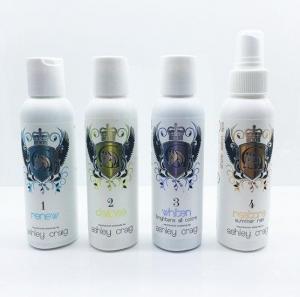 Ashley Craig Show Salon Spa Travel Sacs 4x150ml Bottles