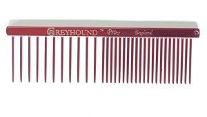 """AC Brat 4.5"""" Twin Comb - Candy Red"""