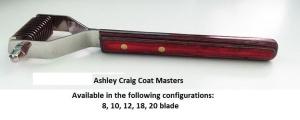 Ashley Craig Coat Master 20 Blade