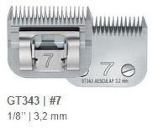 Aesculap Detachable Blade Size #7 Skip Tooth