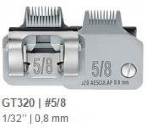 Aesculap Detachable Blade Size #5/8 Toe